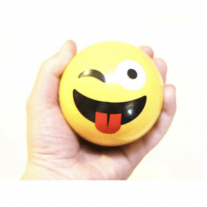 Portable Winking Tongue Out Emoji Speaker