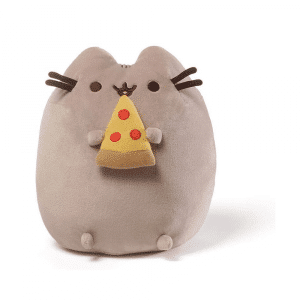 Pusheen With Pizza Plus Toy