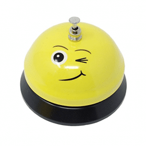 Service Bell Wink Emoji