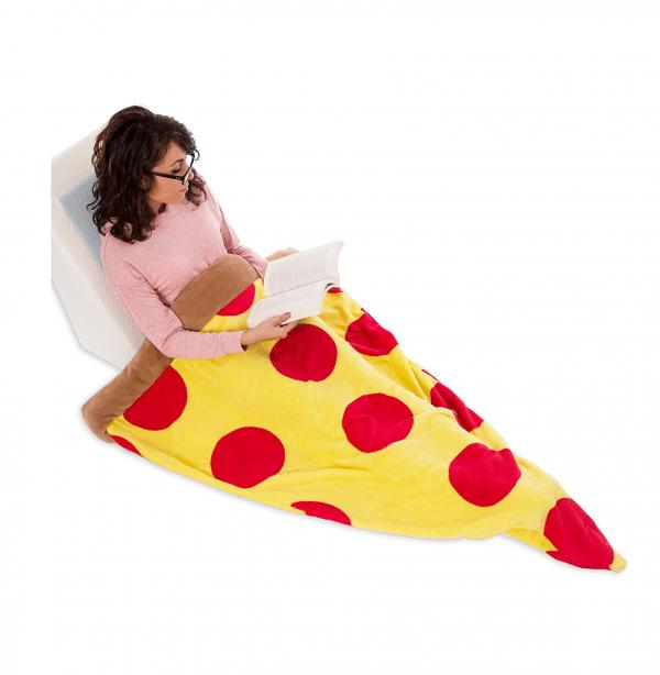 Sleeping Bag Pizza Shaped