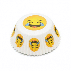Tears of Joy Emoji Baking Cup Set