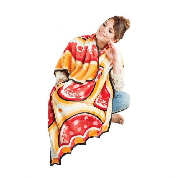 Throw Blanket Pizza Style