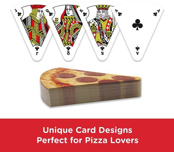 Unique Pizza Shaped Cards Deck