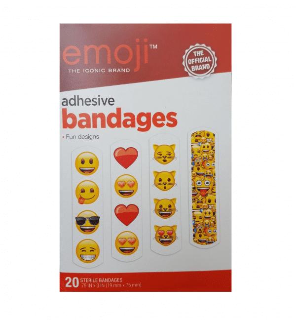 Variety Emoji Designed Bandages
