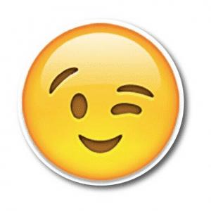 Wink Emoji Magnet