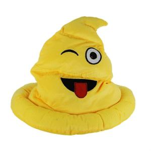 Wink Emoji Wizard Hat