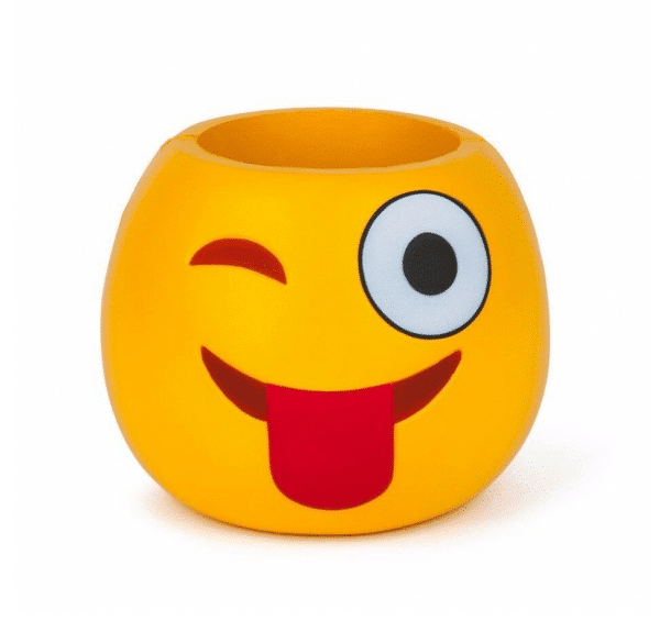 Winking Tongue Out Beer Can Koozie