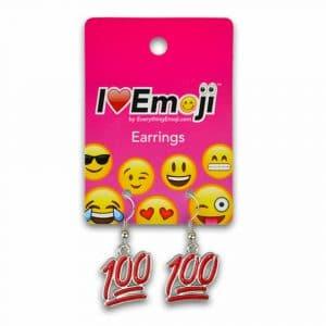 100 Emoji Earrings