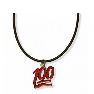 100 Emoticon Necklace