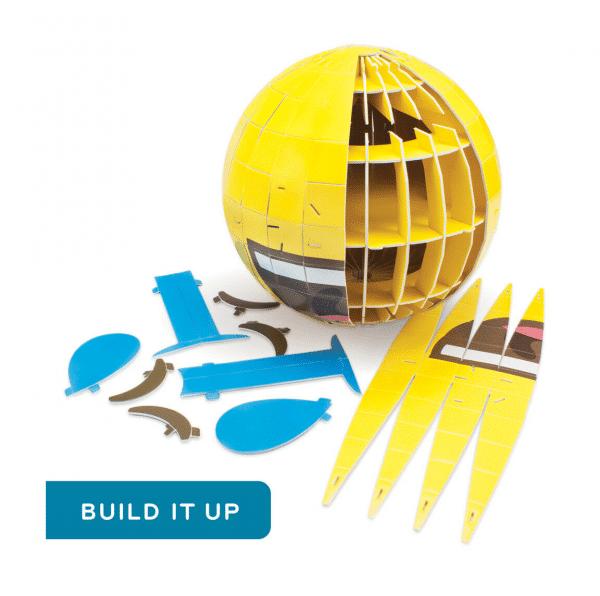 Build Your Own 3D Puzzle Pieces Emoji