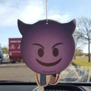 Car Air Freshener Devil Emoticon