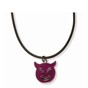Emoji Devil Necklace