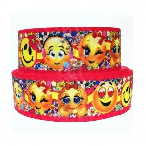 Emoji Grosgrain Ribbon
