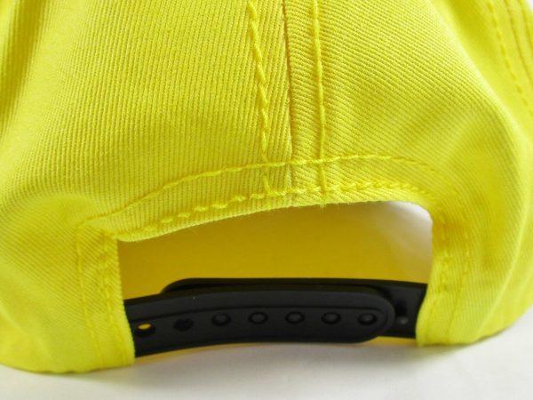 Emoji Heart Eyes Back Side Yellow Cap
