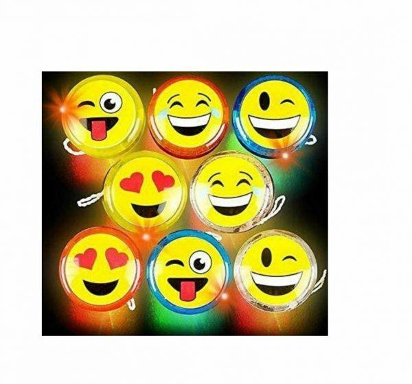 Emoji Light Up Yo Yo Set