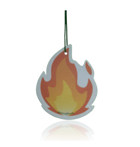 Fire Emoji Air Freshener