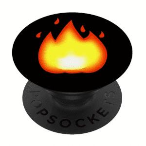 Fire Emoji Pop Socket