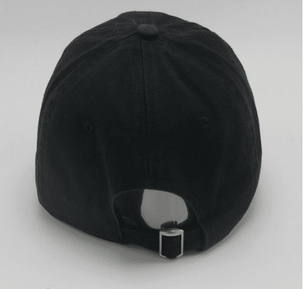 Flame Emoji Black Cap Back