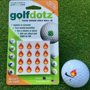 GolfDotz Flame Emoji Style Pack