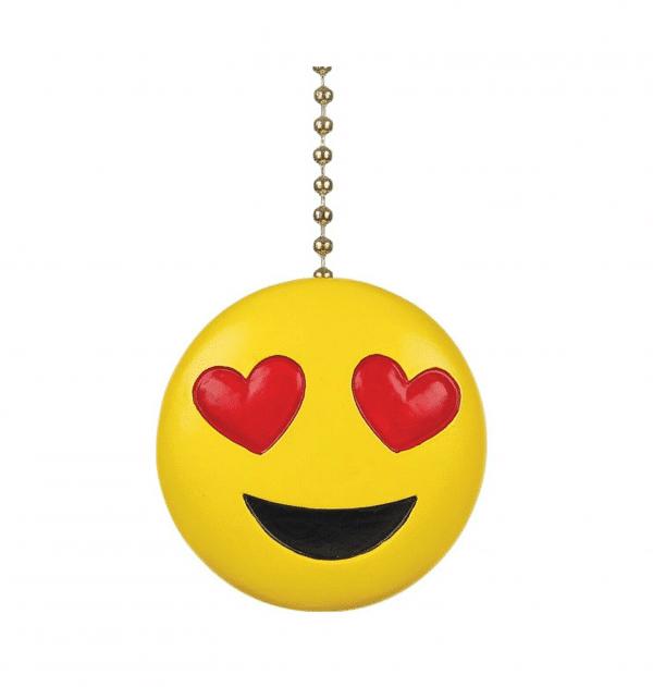 Heart Eyes Ceiling Fan Decorative Pull