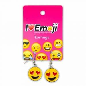 Heart Eyes Emoji Earrings