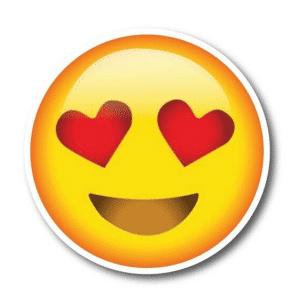 Heart Eyes Emoji Magnet