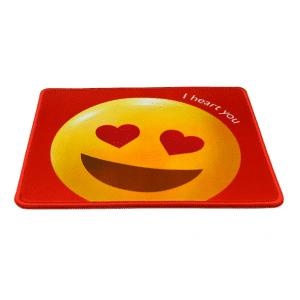 Heart Eyes Emoji Mouse Pad