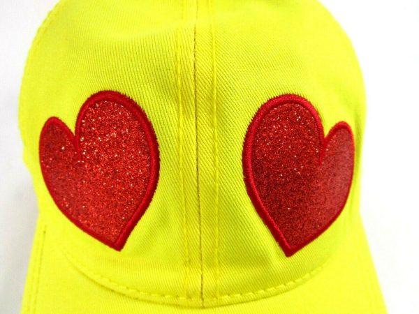 Heart Eyes Yellow Cap Emoji