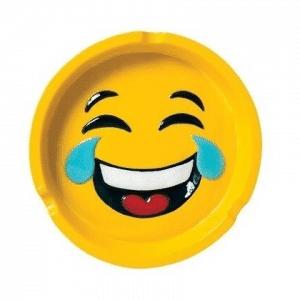 Laughing Tearing Emoji Ashtray