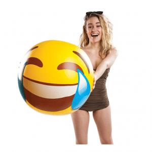 Laughing Tears Emoji Beach Ball