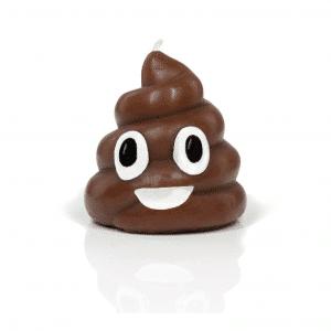 Poop Emoji Candle