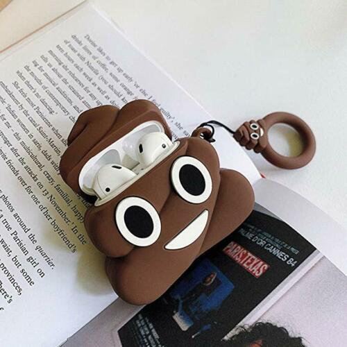 Poop Emoticon AirPod Case