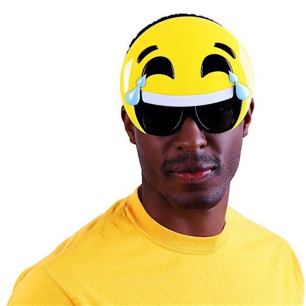 Shades Sunglasses Laughing Teary Emoji