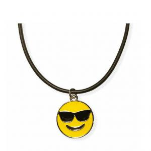 Smile Sunglasses Emoji Necklace