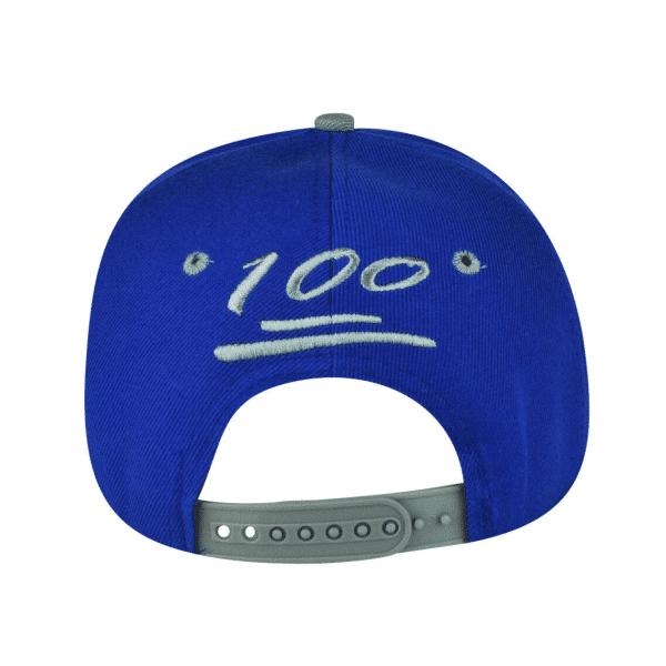 Snapback 100 Emoji Blue Backside