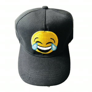 Tears of Joy Emoji Baseball Cap