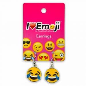 Tears of Joy Emoji Earrings