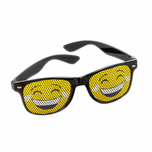 Tears of Joy Emoji Glasses