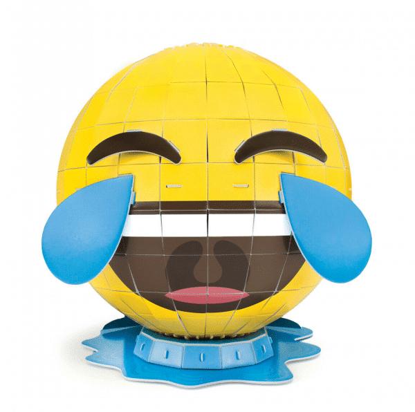 Tears of Joy Emoticon 3D Puzzle