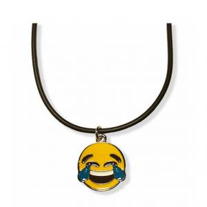 Tears of Joy Emoticon Necklace