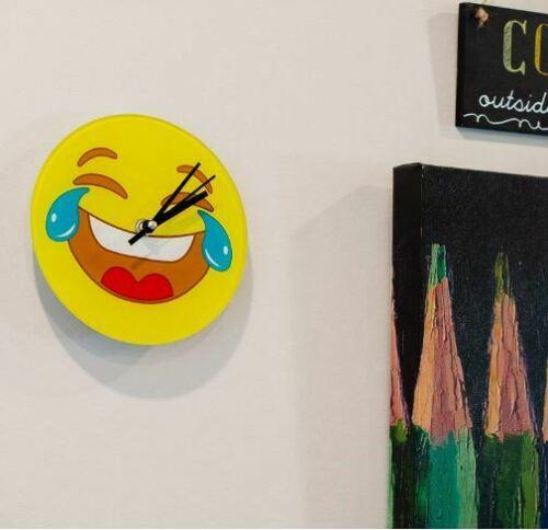 Wall Clock Tears of Joy