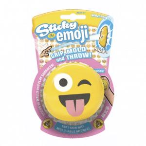 Wink Emoji Sticky Splat Toy