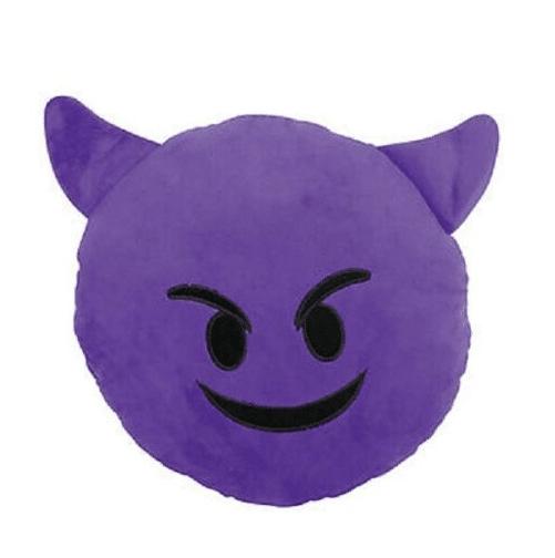Devil Emoji Plush Toy
