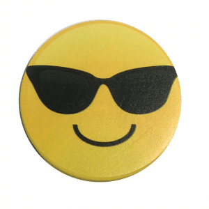 Dry Eraser Sunglasses Smile Magnetic