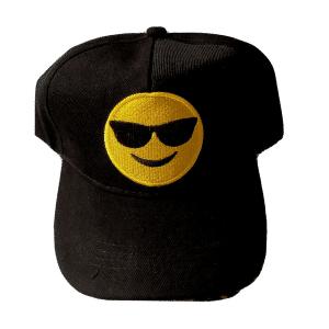 Smile Sunglasses Emoji Baseball Cap