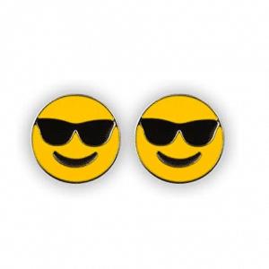 Smiling With Sunglasses Emoji Earrings
